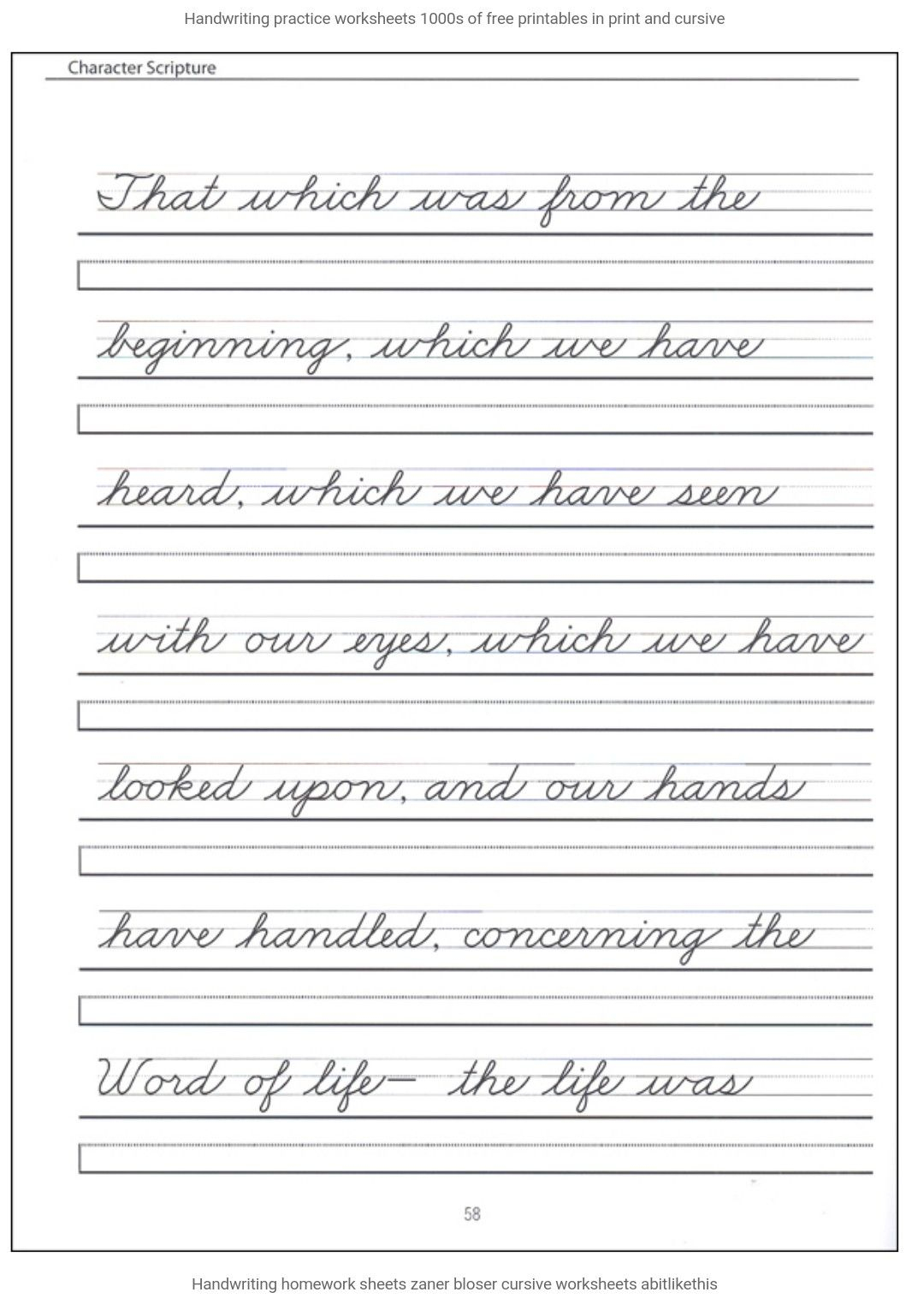 Pinannette 🌸🌼🌺 On Cursive Writing | Cursive Handwriting | Cursive Writing Words Worksheets Printable
