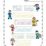 Pinbrenda Garcia Galvez On Community Helpers Theme Pre K | Free Printable Community Helpers Worksheets For Kindergarten