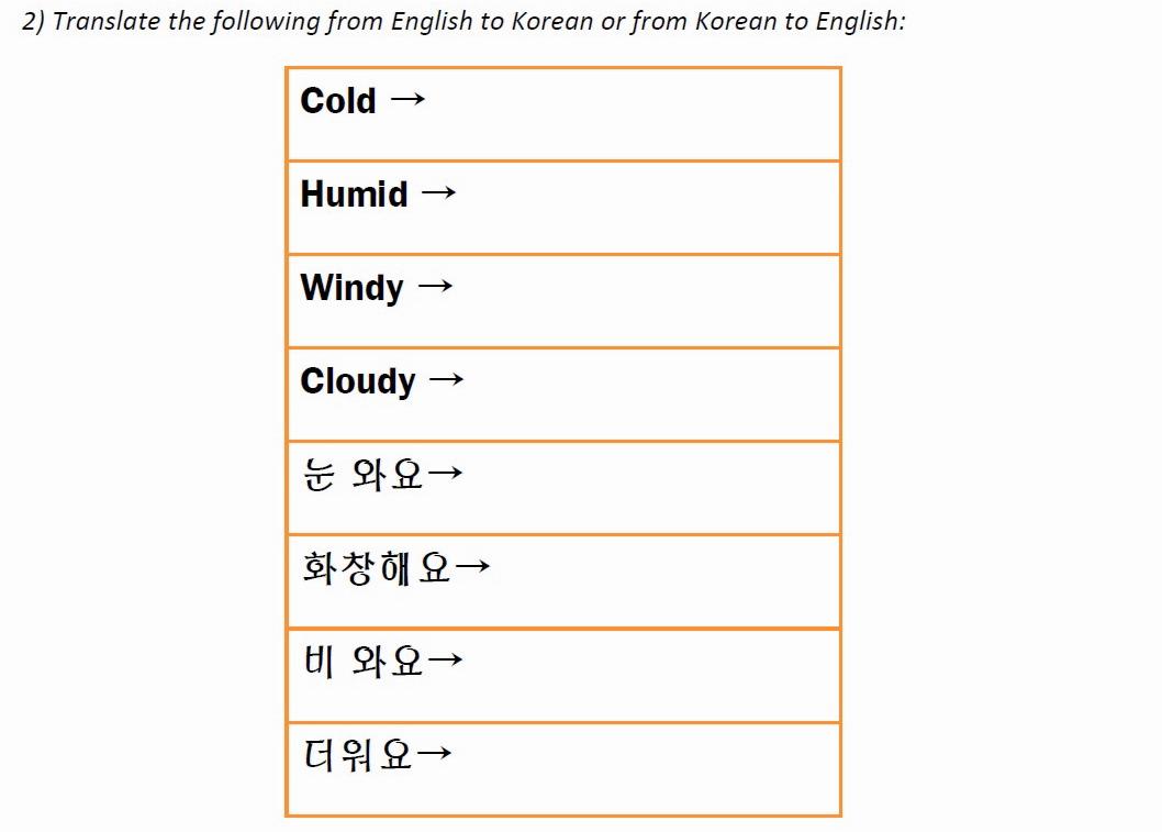 Places – Fresh Korean | Printable Korean Language Worksheets