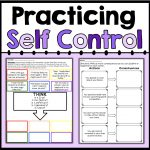 Practicing Self Control   Counselorchelsey On Tpt   Counseling   Impulse Control Worksheets Printable