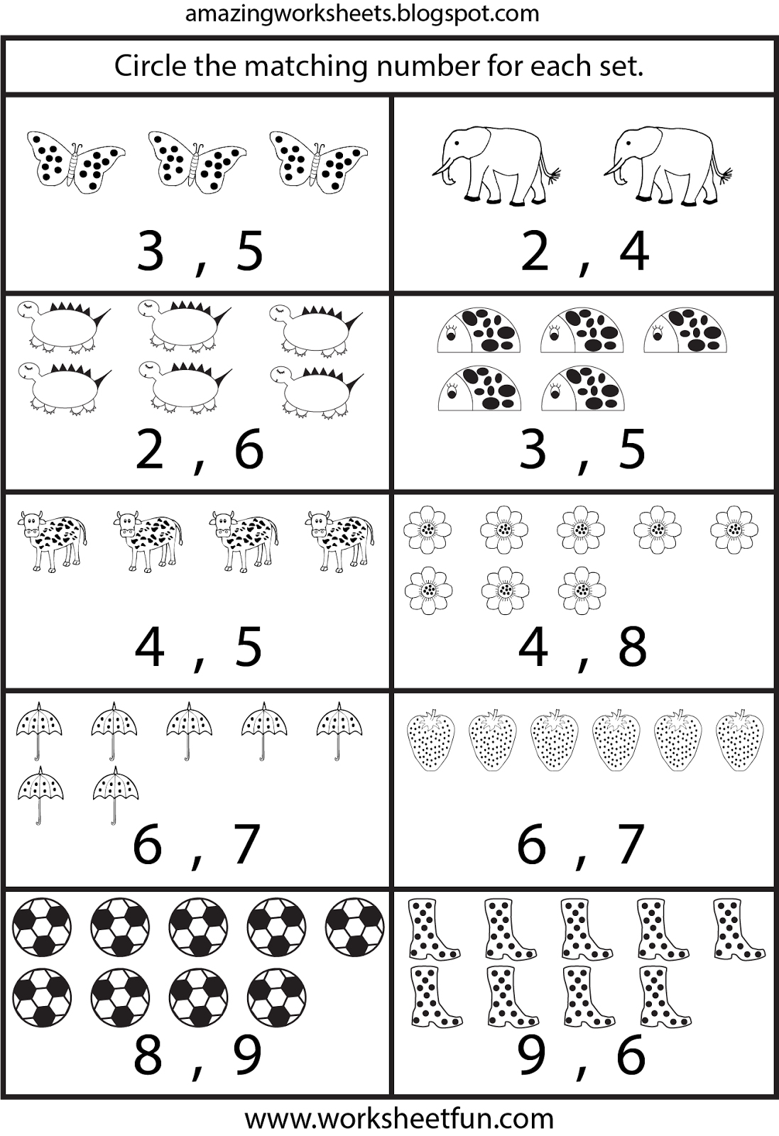 Pre K Learning Worksheets – With Printing Sheets For Kindergarten | Counting Printable Worksheets For Kindergarten