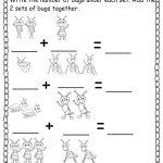 Pre K Worksheets Numbers Addition   Worksheets   Pre K Worksheets   Free Printable Pre K Math Worksheets