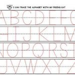 Preschool Printing Worksheets – With Alphabet Also Handwriting | Handwriting Names Printable Worksheets