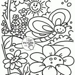 Printable Coloring Pages For Kids – With Worksheets Preschool Also | Free Printable Coloring Worksheets For Kindergarten