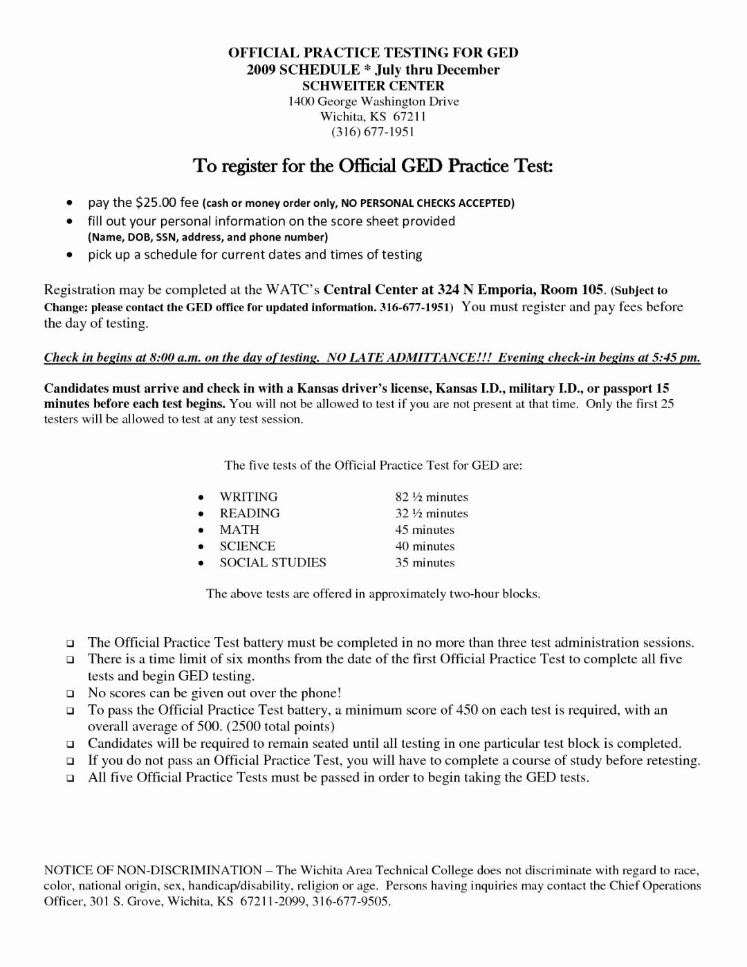 Printable Ged Practice Worksheets Best Of Printable Ged Practice | Printable Ged Practice Worksheets
