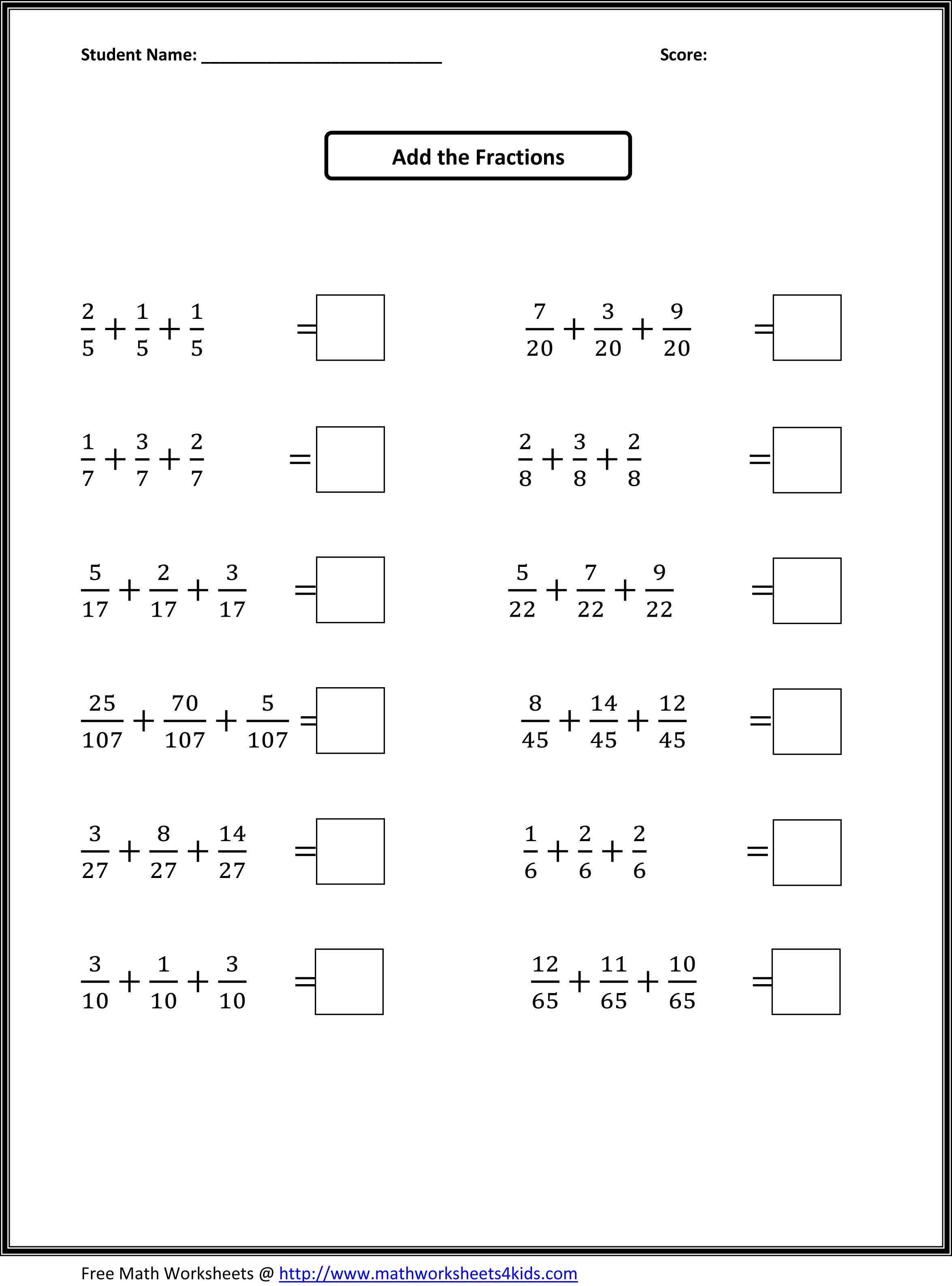 Printable Worksheetsgrade Level Andskill. | Teaching Ideas | 4Th Grade Printable Worksheets On Math