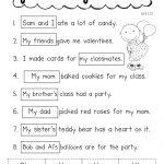 Pronoun Valentine.pdf | School   Ela | Pronoun Worksheets, Classroom | Free Printable Pronoun Worksheets For 2Nd Grade