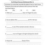 Pronouns Worksheets | Regular Pronouns Worksheets | Free Printable Pronoun Worksheets For 2Nd Grade