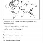 Rainforest Map Worksheet | Rain Forest Ideas | Rainforest Classroom | Rainforest Printable Worksheets