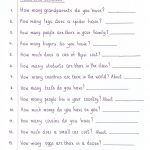 Read And Complete   How Much/many | This Be My Teaching Skills | How Many How Much Worksheets Printable