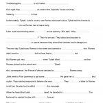 Romeo And Juliet Activities Worksheet   Free Esl Printable | Romeo And Juliet Free Printable Worksheets