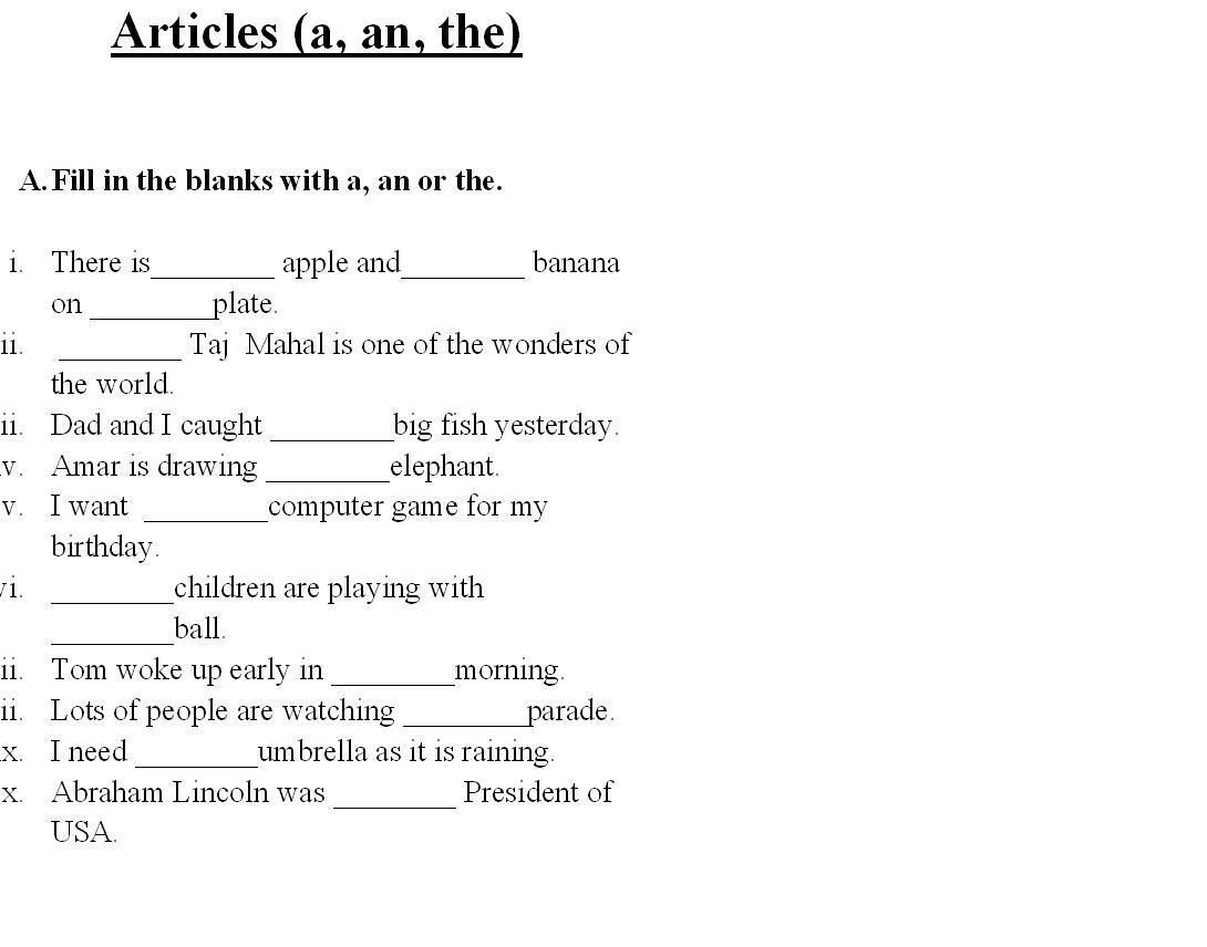 Saved Free Printable English Grammar Worksheets For Grade 6 2 | Free Printable Grammar Worksheets
