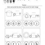 Short Vowel Sounds Worksheet (Thanksgiving Vowel Lesson, Page 10)   Short A Printable Worksheets