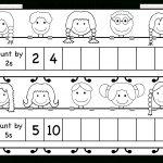 Skip Counting2 And 5 – Worksheet / Free Printable Worksheets | Counting In Twos Worksheet Printable