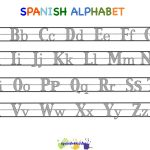 Spanish Alphabet Worksheets | Free Printables Worksheet   Free | Free Printable Spanish Alphabet Worksheets