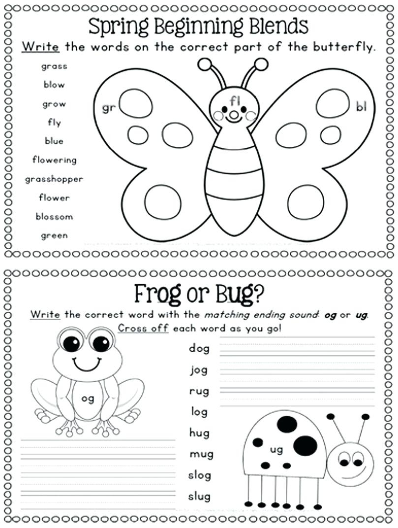 Spring Worksheet Spring Worksheet For Kids Spring Worksheets For | Free Printable Spring Worksheets For Elementary