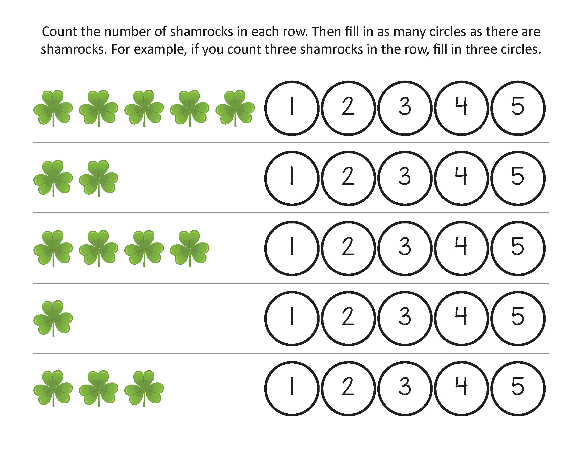 St Patricks Day Worksheets - Best Coloring Pages For Kids | Free Printable St Patrick Day Worksheets