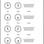 Start From Half Hours Analog Elapsed Time Worksheet! Start From Half | Elapsed Time Worksheets Free Printable
