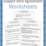 Subject Verb Agreement Worksheets | Kidskonnect | Subject Verb Agreement Printable Worksheets High School
