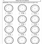 Telling And Writing Time Worksheets   Telling Time Worksheet Printable