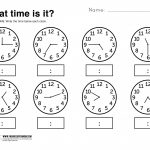 Telling Time Worksheets Grade 3   Lostranquillos   Free Printable   Telling Time Worksheet Printable