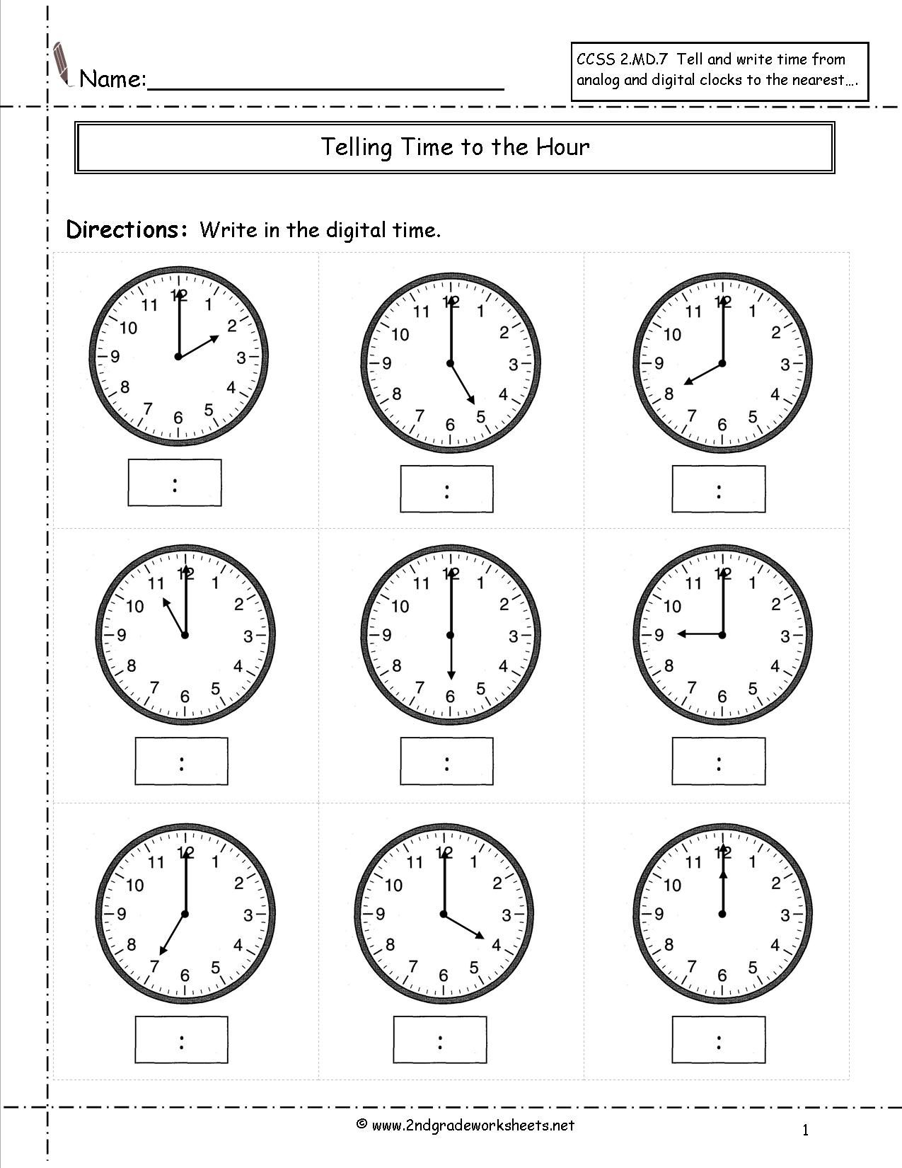 Telling Time Worksheets Half Hour | זמן | Clock Worksheets | Telling Time Printable Worksheets First Grade
