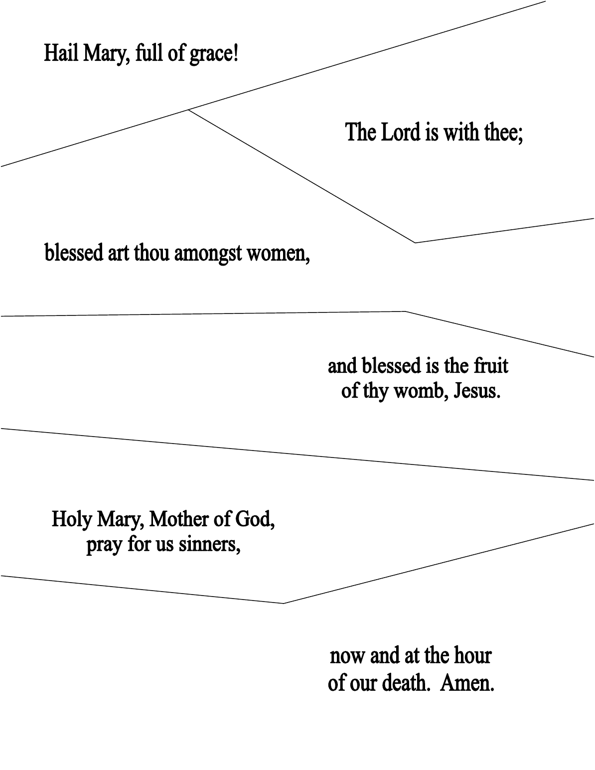 The Catholic Toolbox: Lesson Plan- Mary Is The Mother Of Our Church   Free Printable Rosary Worksheets
