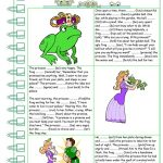 The Frog Prince Worksheet   Free Esl Printable Worksheets Made | The Frog Prince Worksheets Printable