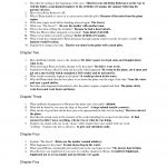 The Hatchet Question Sheet   Answers | Questions | Essay Questions | Hatchet Worksheets Printable