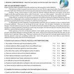 The Internet (Test 9Th Grade   A2/b1) Worksheet   Free Esl Printable   9Th Grade English Worksheets Printable Free