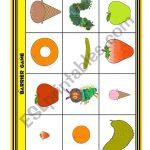 The Very Hungry Caterpillar Barrier Game   Esl Worksheetloangel | Printable Barrier Games Worksheets