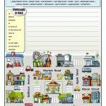 This Is My City Worksheet   Free Esl Printable Worksheets Made | Places In Town Worksheets Printables