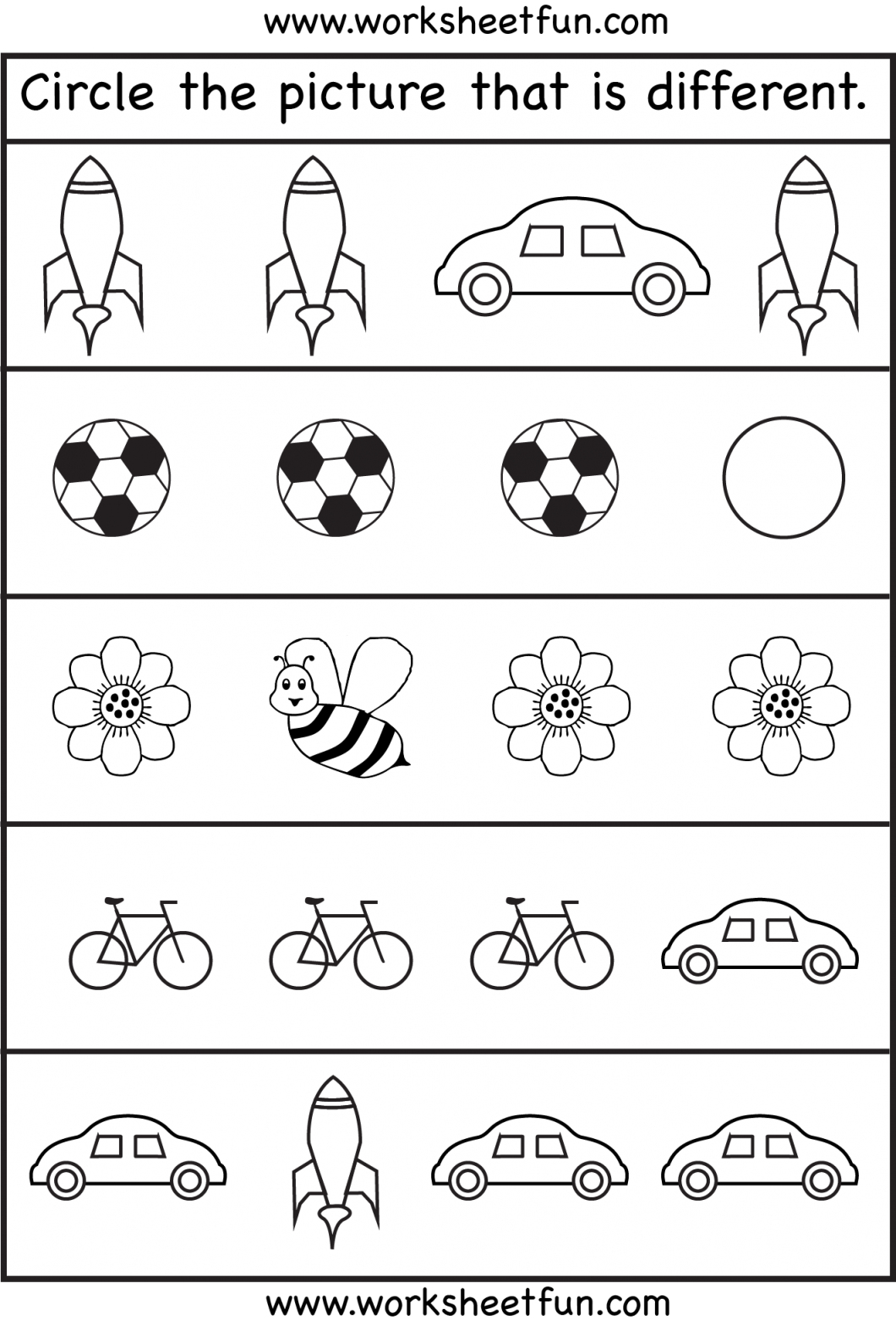 Toddler Learning Printables – With Preschool English Worksheets Also | Free Printable Worksheets For Children