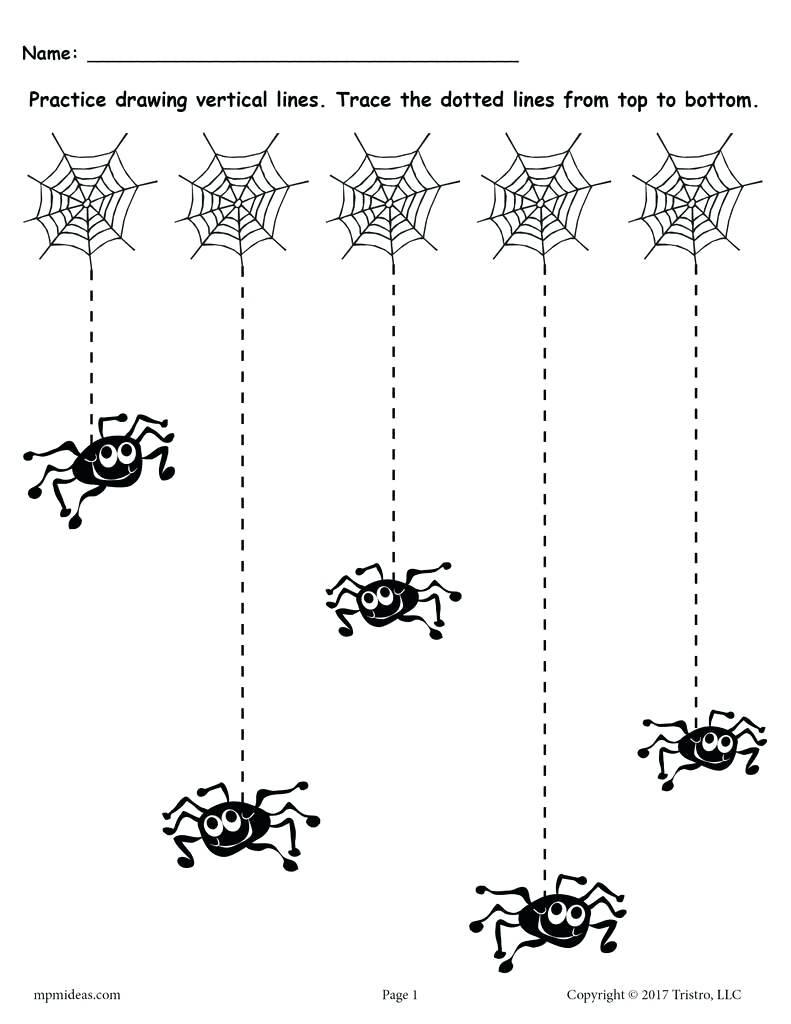 Tracing The Line Free Printable Line Tracing Worksheets Tracing | Tracing Lines Worksheets Printable