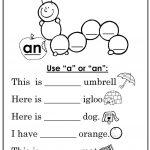 "Use ""a"" Or ""an"" Worksheet   Free Esl Printable Worksheets Made | A An Worksheets Printable"
