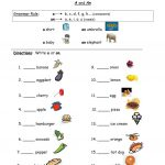 """Using """"a"""" And """"an"""" Worksheet   Free Esl Printable Worksheets Made 