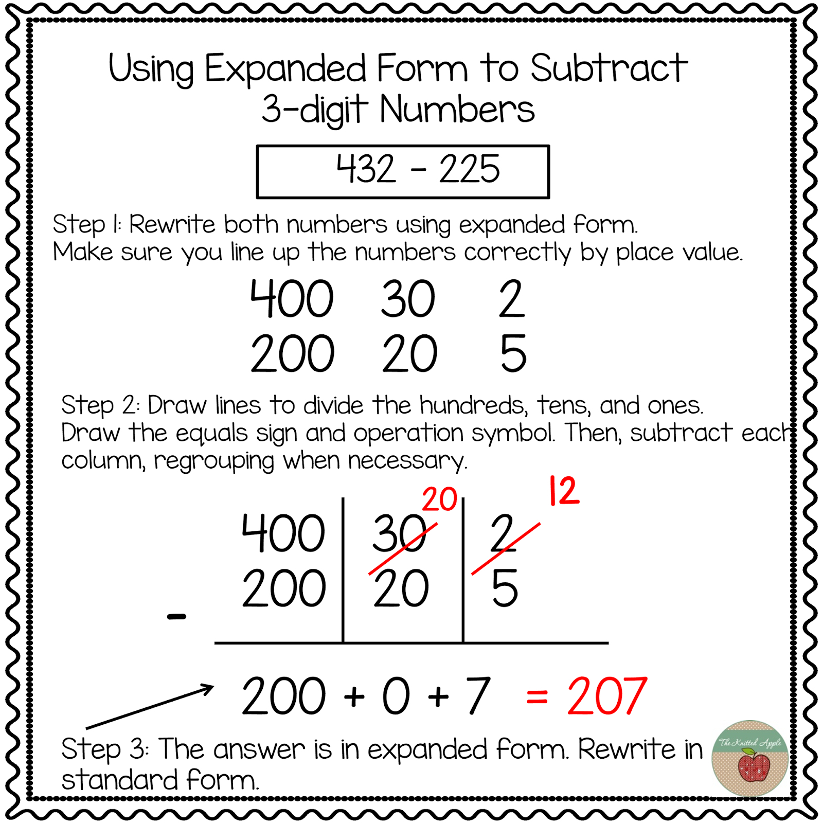 Using Expanded Notation To Regroup | Math | Pinterest | Math - Free | Free Printable Expanded Notation Worksheets