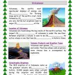 Volcanoes Worksheet   Free Esl Printable Worksheets Madeteachers | Printable Volcano Worksheets