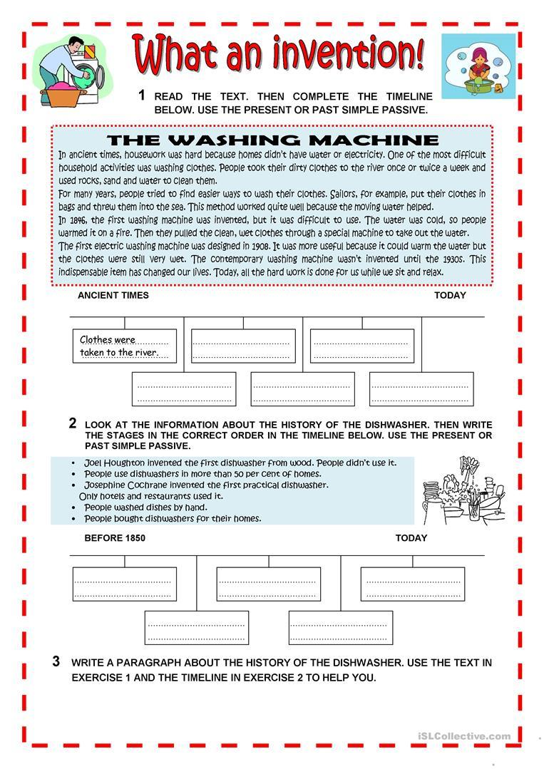 What An Invention Worksheet - Free Esl Printable Worksheets Made | Inventions Printable Worksheets