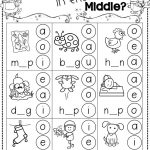 Winter Activities For Kindergarten Free   Kindergarten Literacy   Short A Printable Worksheets