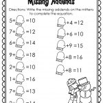 Winter Math And Literacy Printables No Prep! | Firstgradefaculty | Printable Winter Math Worksheets