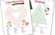Free Printable Math Word Search Worksheets