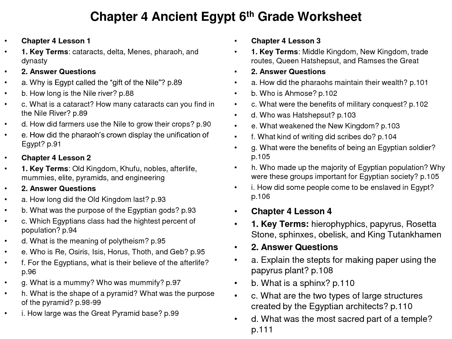 Worksheet : Best Images Of Grade Geography Worksheets Ancient Egypt | Geography Worksheets Ks3 Printable