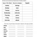 Worksheet. Free Printable Spanish Worksheets. Worksheet Fun   Printable Spanish Worksheets Answers