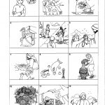 Worksheet : Jesus Feeds The Coloring Page Miracles Of For Kids | Printable Worksheets Miracles Jesus
