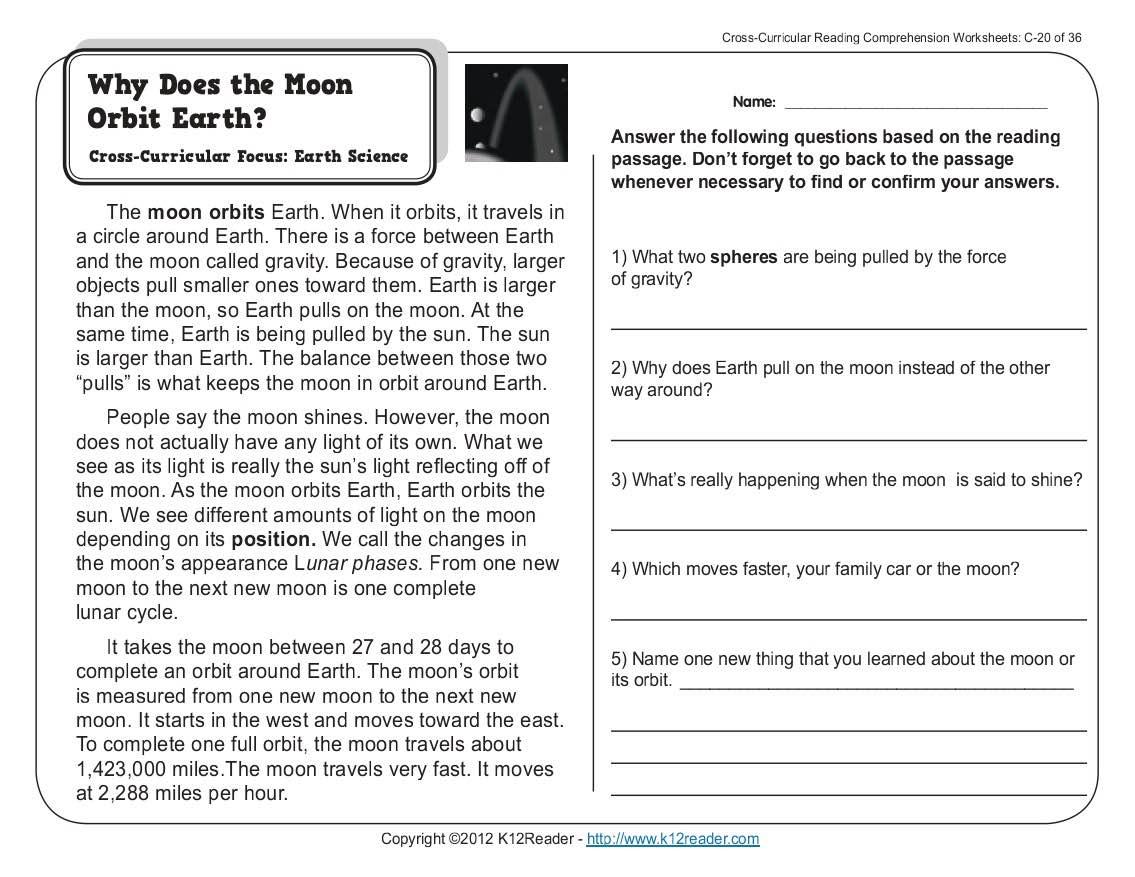 Worksheet : Kids Science Comprehension Worksheets Reading Comprehens | Comprehension Worksheets Ks1 Printable
