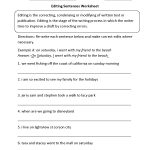 Writing Worksheets | Editing Worksheets | Free Printable Editing Worksheets For 5Th Grade