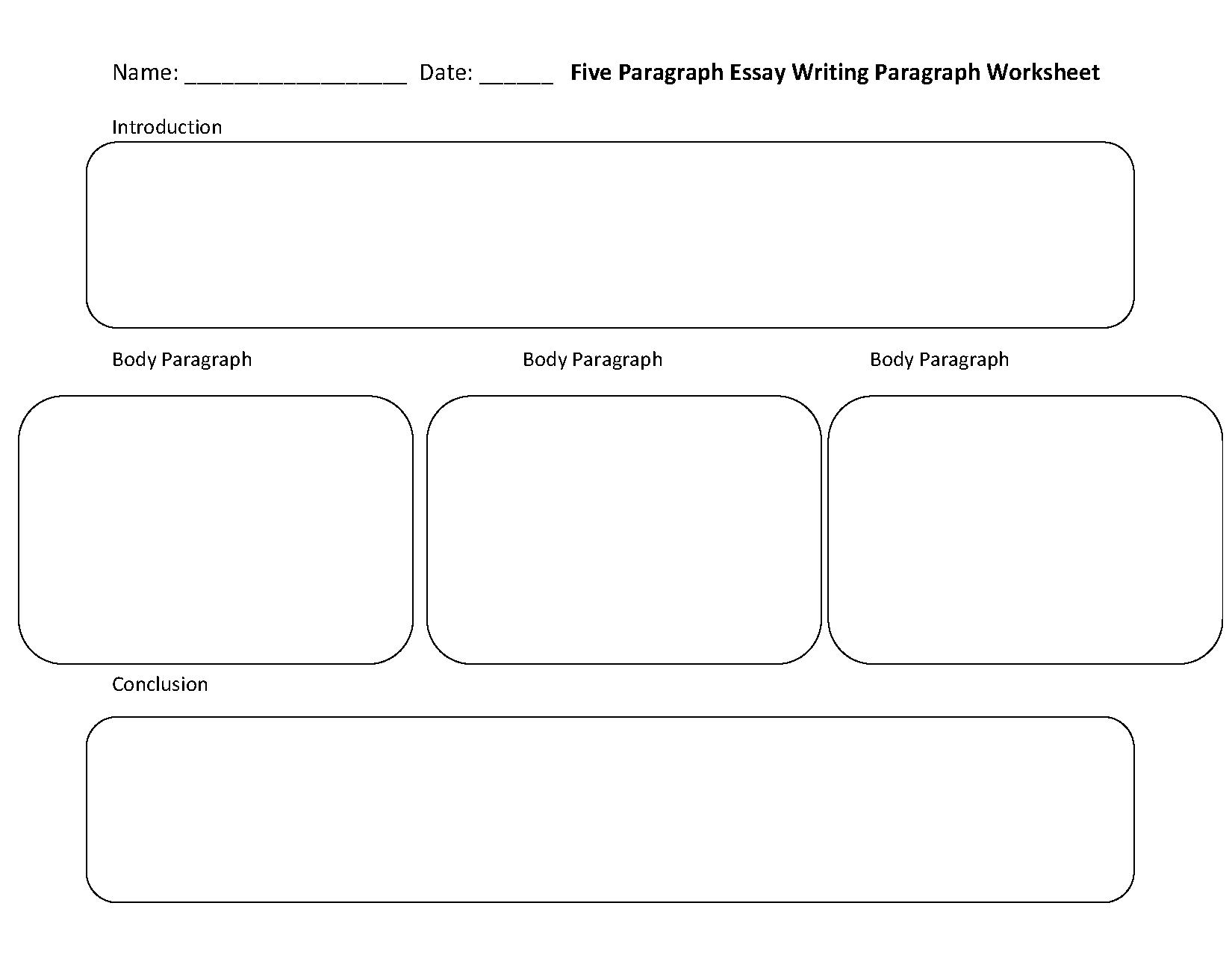 Writing Worksheets | Paragraph Writing Worksheets | Free Printable Paragraph Writing Worksheets