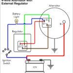 12 Volt Delco Alternator Wiring Diagram | Wiringdiagram | Wiring Diagram Alternator To Battery