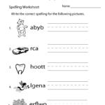Pin On Spelling Worksheets | Free Printable Grade 3 Spelling Worksheets